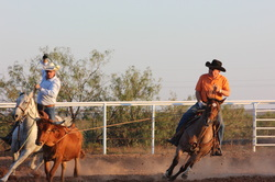 Team Roping at River Breaks Ranch